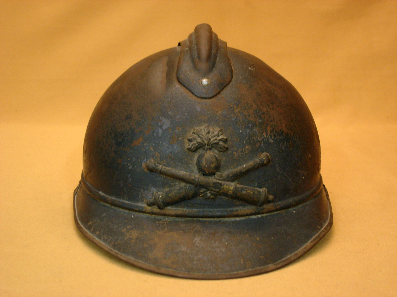 Casque Adrian 1915 Artillerie.