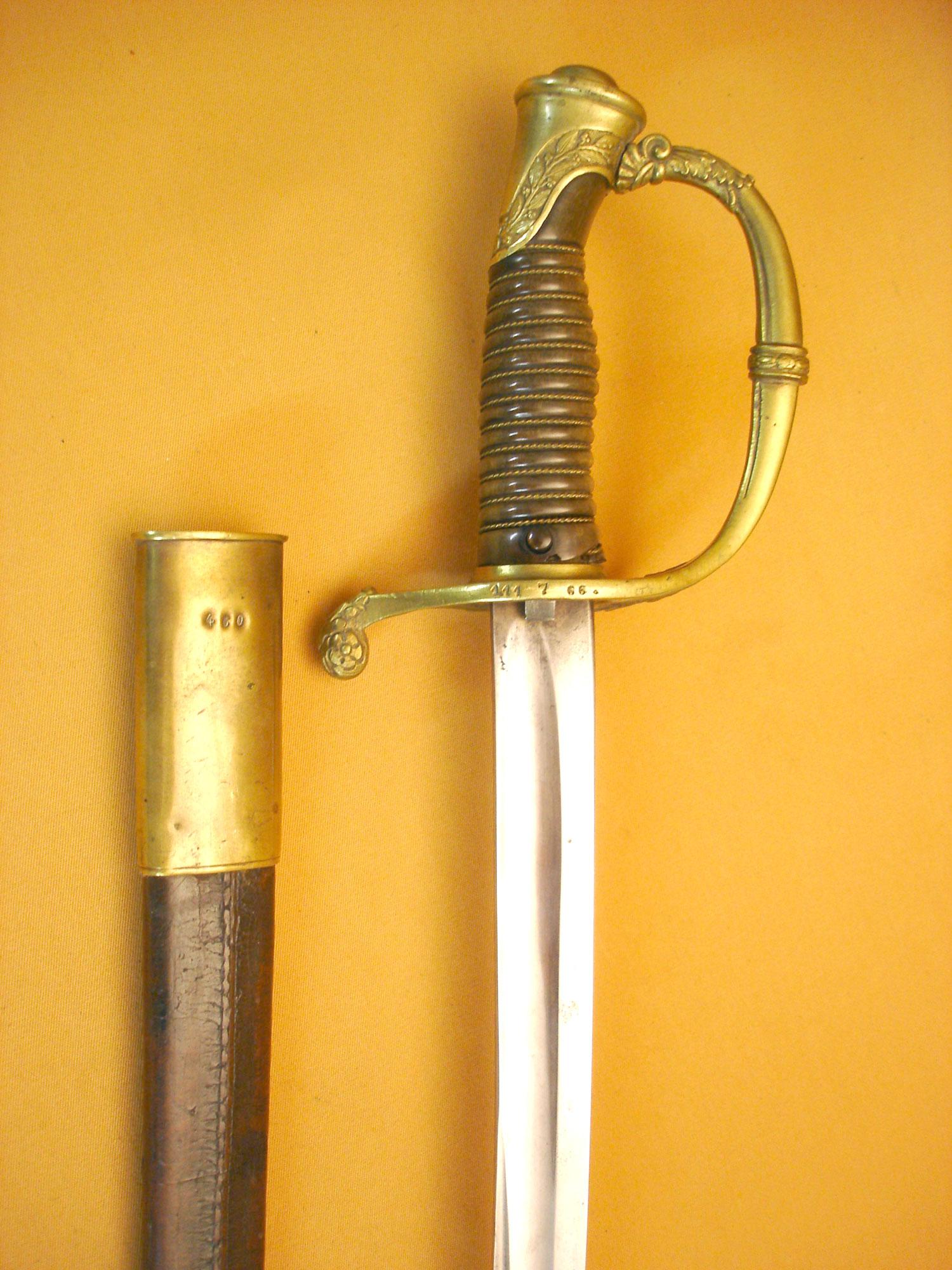 Sabre de sous officier mod 1821/54 de la Garde Impériale.