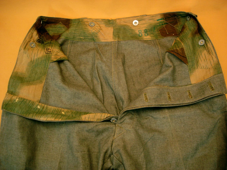 Pantalon toile fabrication des années 50 pour l'Indochine.