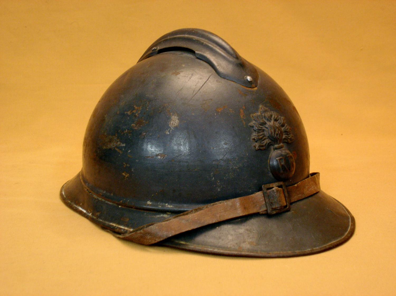 Casque Adrian 1915, infanterie.