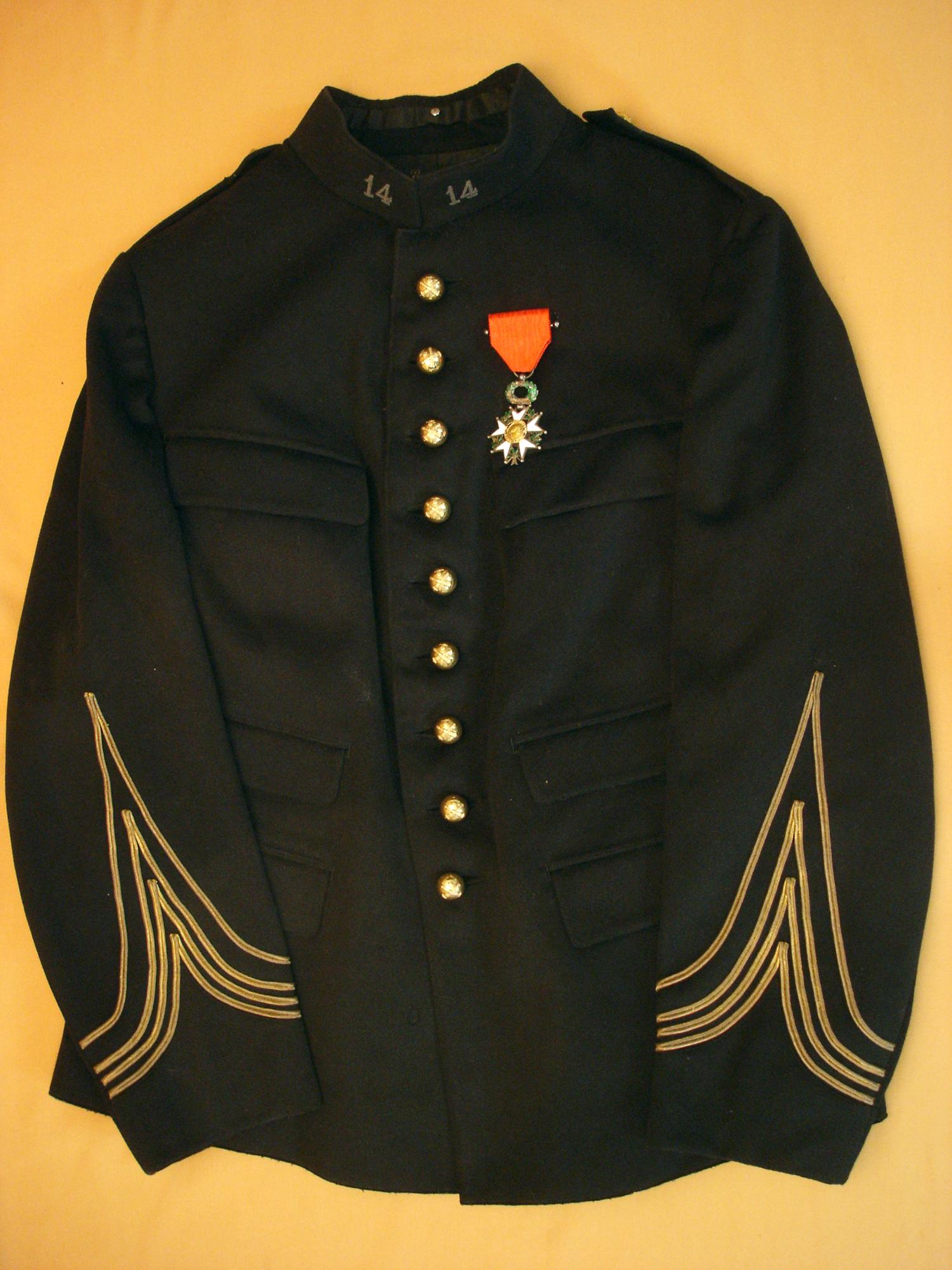 Vareuse Commandant d'artillerie 1900/1914.