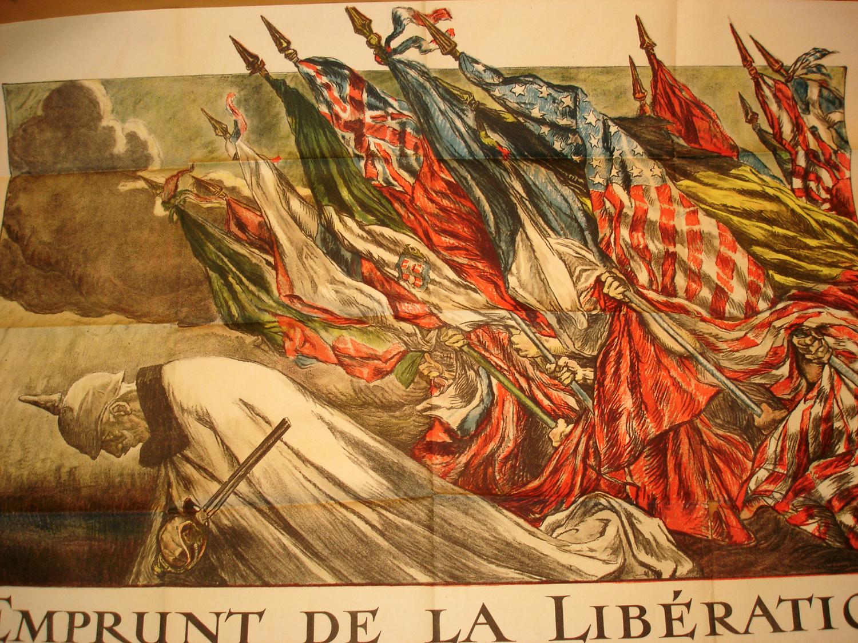 """Affiche """"l'Emprunt de la Libération"""" 1918."""