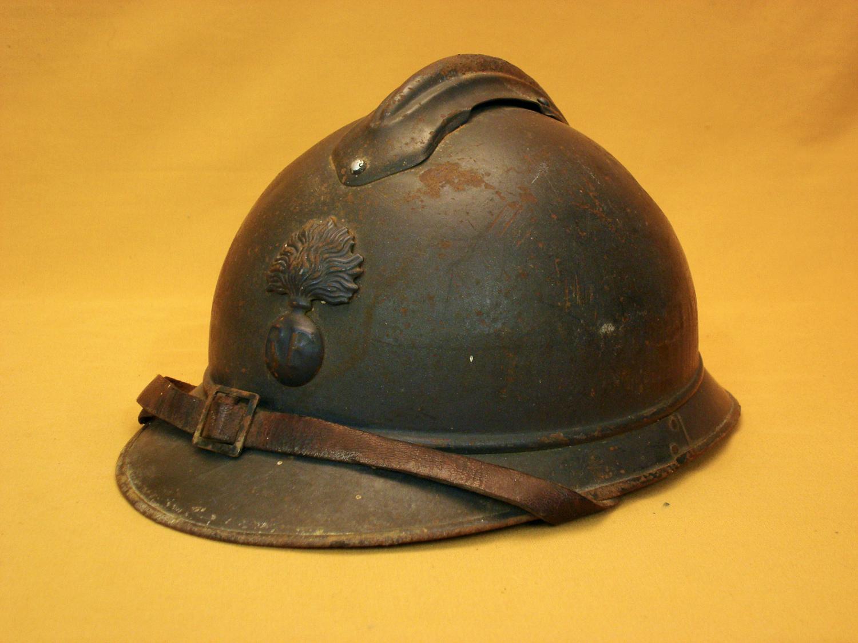 Casque Adrian 1915 Infanterie.