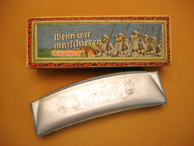 Harmonica de foyer de la Wehrmacht.