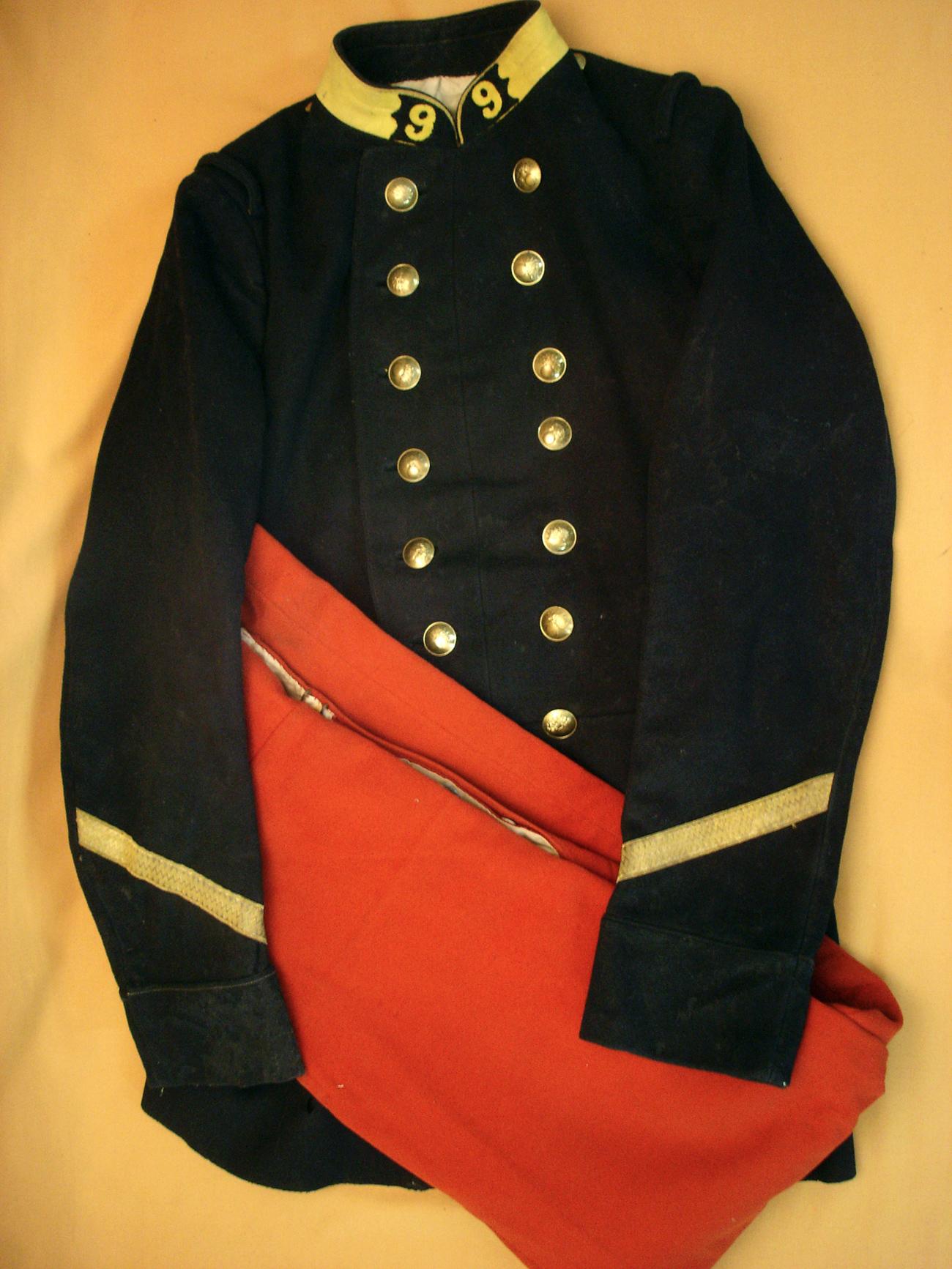 Tenue d'un sergent du 9e RI (Limoges).