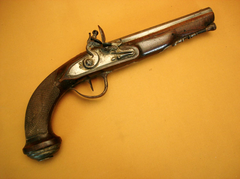 Pistolet d'officier 1er Empire.