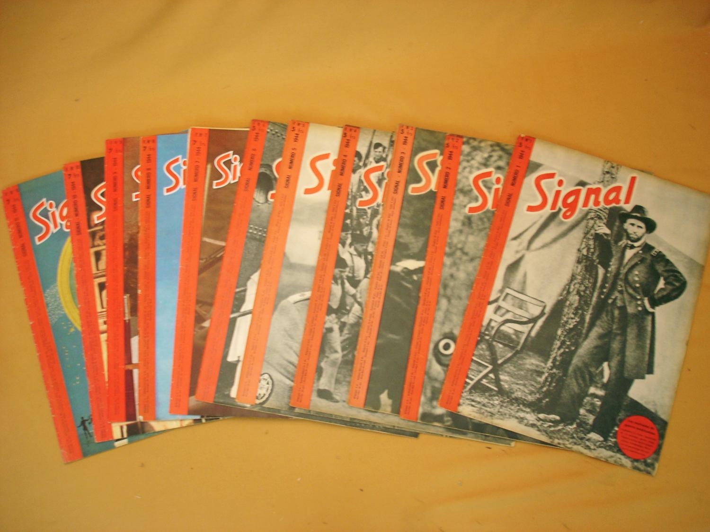 Signal, 11 numéros de l'année 1944.