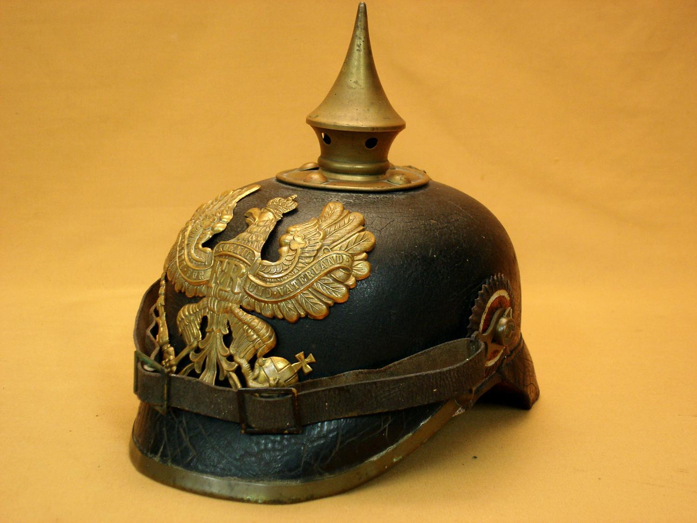 Casque à pointe 1895 d'Infanterie Prussienne.