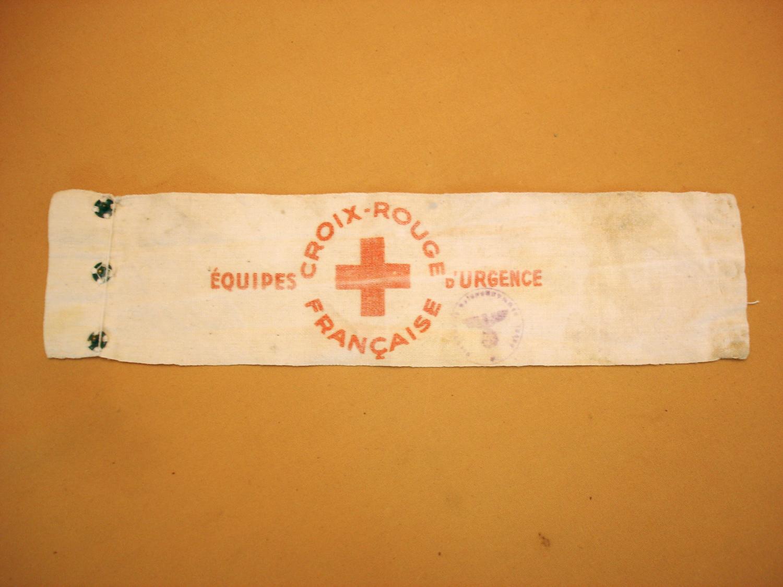Brassard Croix Rouge.