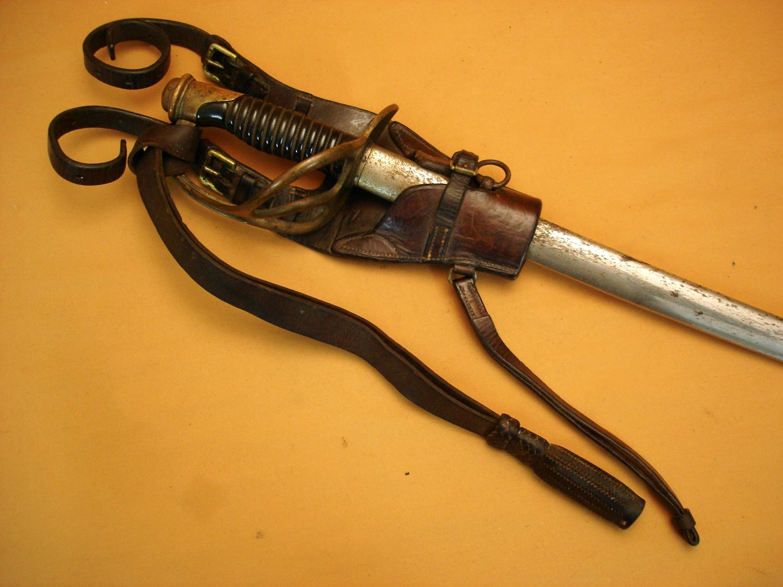 Sabre 1822 de cavalerie légère complet.