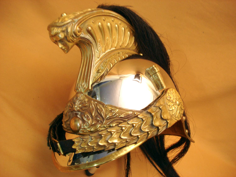 Casque officier de Dragon mod.1874.