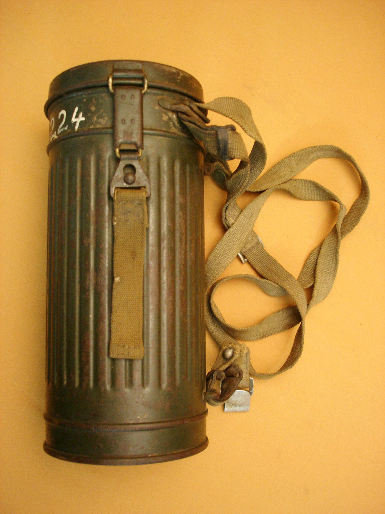 Masque à gaz Wehrmacht.
