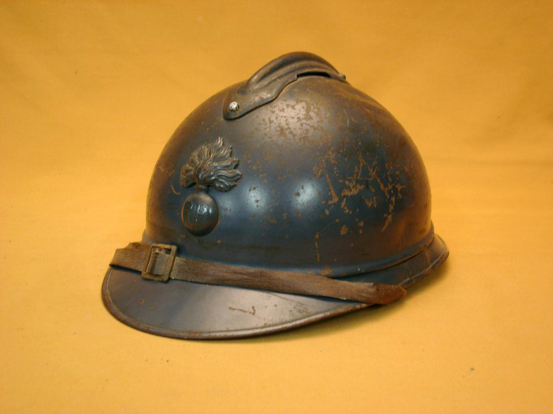 Casque Adrian 15, Infanterie.