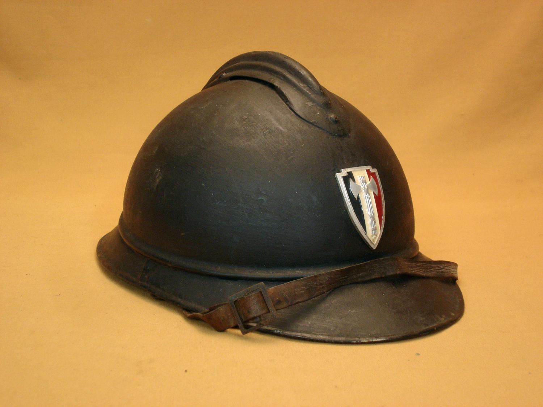 Casque Adrian 15, Police Vichy.
