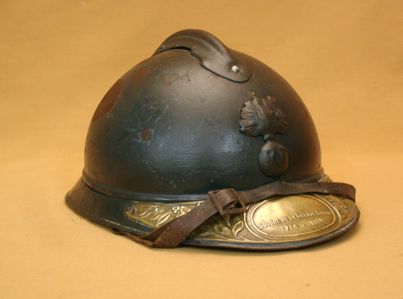 Casque Adrian 1915 infanterie, nominatif.