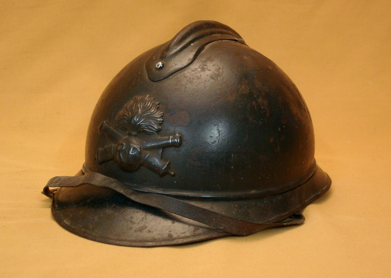 Casque Adrian 1915, Artillerie.