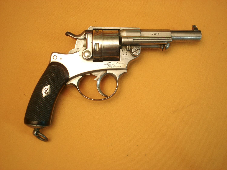 Revolver mod.1873, daté 1877.