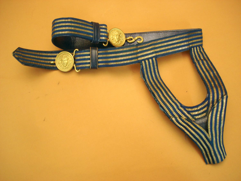 Ceinturon porte épée de Général.